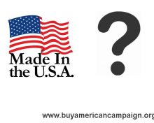 """What's Up With """"Made In America?"""""""