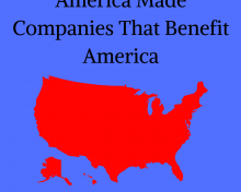 America Made Companies That Benefit America