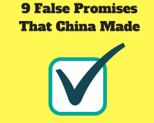 Top 9 False Promises That China Made In Joining The World Trade Organization