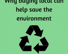 Why Buying Local Can Help Save The Environment