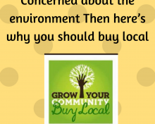 Concerned About The Environment? Then Here's Why You Should Buy Local