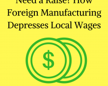 Need a Raise? How Foreign Manufacturing Depresses Local Wages