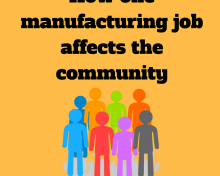 How One Manufacturing Job Affects The Community