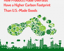 How Products Made Overseas Have a Higher Carbon Footprint Than U.S.-Made Goods