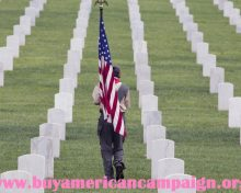 In Observance of Memorial Day