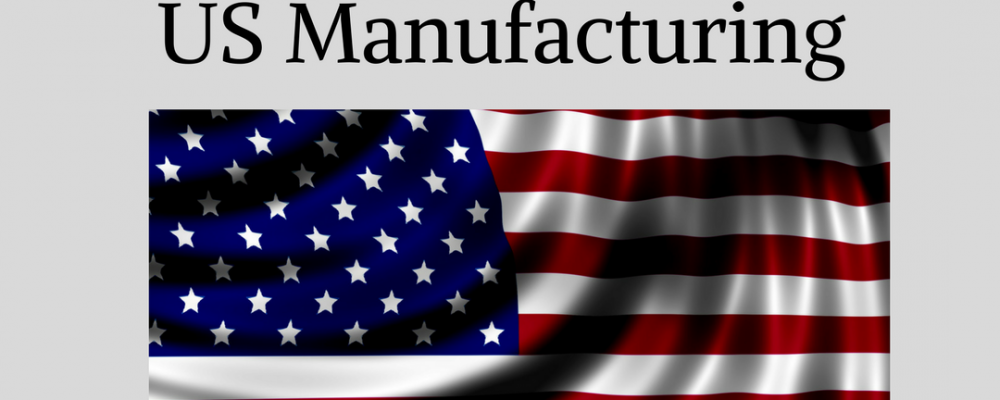 Three Policies That Can Revive and Strengthen US Manufacturing Part I